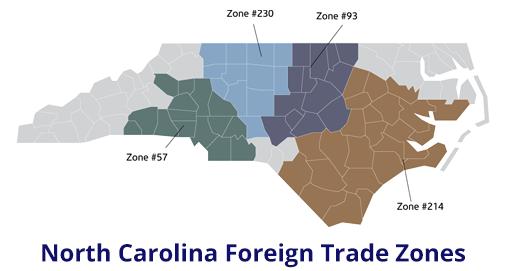 North Carolina FTZs