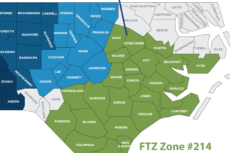 North Carolina FTZ 214
