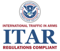 ITAR Regulations Compliant