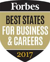 Forbes Best States for Business & Careers 2017
