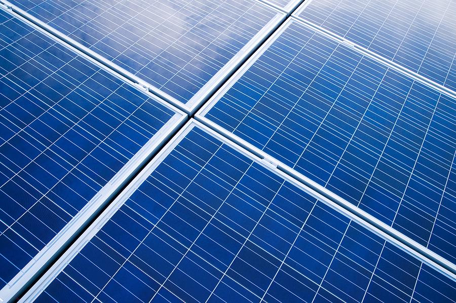 solar panel warehouse